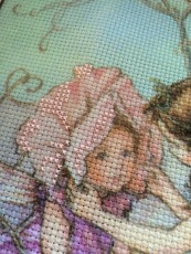 Fairy Cross Stitch Work