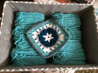 Blues Blanket Square progress